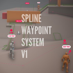 Tool which helps you to control AI/Character using Spline