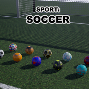 High quality and customizable soccer assets to fit in your product