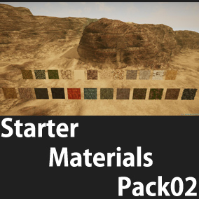 A necessary materials pack for background production.
