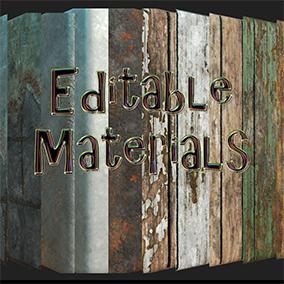 Editable Materials Pack