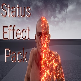 Use these different status effects when you want the character to display what state they are in.