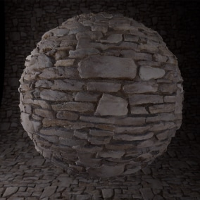 Stone Wall Material Pack 2