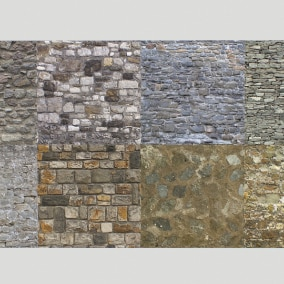 Stone walls pack 2