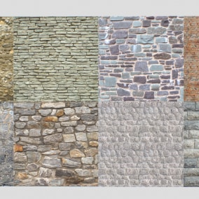 Stone walls pack 3