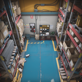 """Storage House Set"" contains all essential objects for creating believable and detailed warehouse interior environments with a modular approach and photorealistic look, giving you an enjoyable experience while building levels for your game."