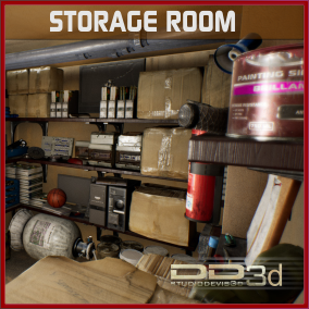 Quantity of detailed objects of all kinds that can be found in a storage room, garage or even in a mechanical workshop.