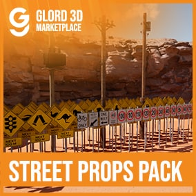 A quality prop pack with 4K textures, 100+ Props. Glord 3D is a digital media company that sells 3D models used in 3D graphics to a variety of industries, including computer games, architecture, and interactive projects.