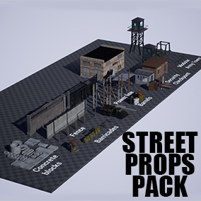 A set of assets to be placed on the street.