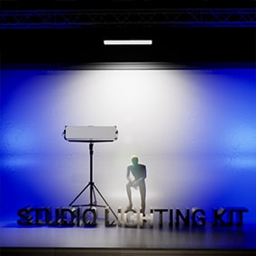 Studio Lighting Kit for Pre-Viz and Lighting Design Workflow