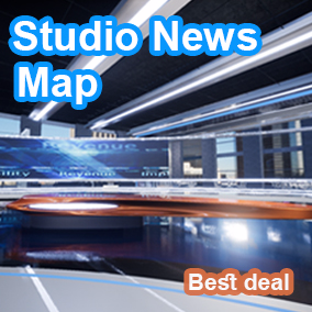 Integrate the Studio News Map in your project get props and studio architecture. Compatible with all packs in Modular.