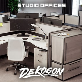 A studio office environment that can be used for games!