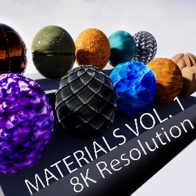 Stylized Materials is suitable for any outdoor scenes you want to create!