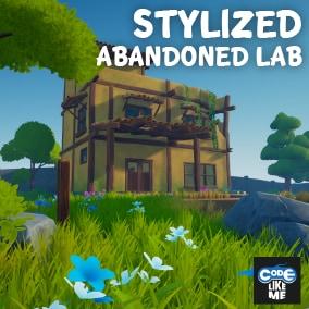 Stylized Abandoned Lab Environment