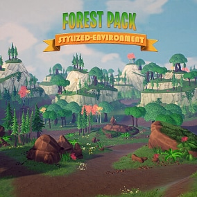 A Beautiful Environment Set That Will Take Your Game To The Next Level!