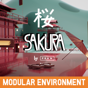Easy to build Japanese Style Environment including modular architecture, decorative meshes, foliage, a character and much more.