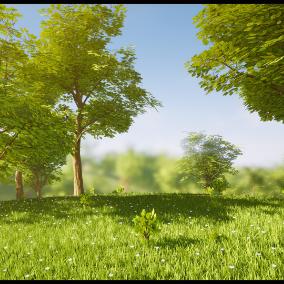 Stylized Landscape VOL.01