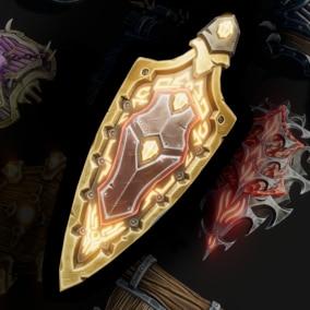 15 Stylized Shields - Fantasy