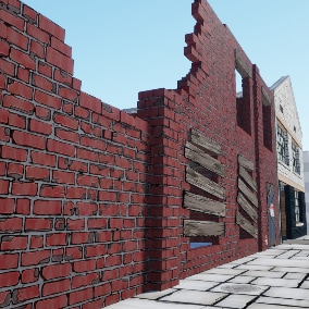 Stylized Town Assets