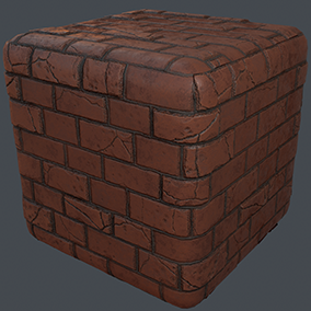 Stylized Brick and Stone Walls Materials Pack