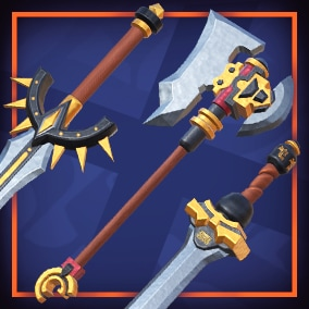 Stylized Weapons PBR Asset Pack Vol.1 includes Models, Prefabs with all textures, materials.
