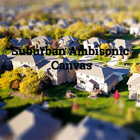 A collection of suburban ambisonic ambience sounds to use as a 3D audio backdrop for VR or first person games.