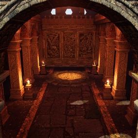 Modular Aztec\Mayan style temple