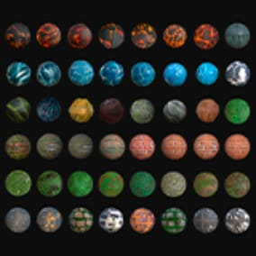 This is a seamless pbr textures. Contains 72 Unique Textures.