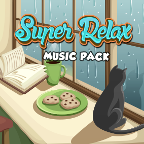 Super Relax Music Pack presents 5 chill and calming music pieces for your games!