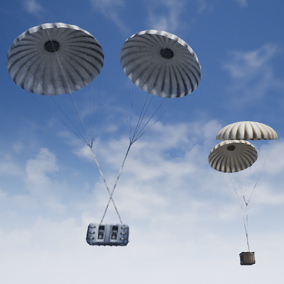 2 Different Supply Drop Assets - Animated, Blueprinted & Replicated