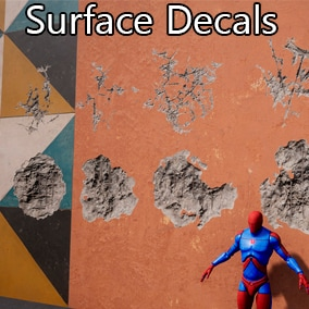 Various surface decals