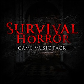 Survival Horror Game Music Pack is a premium package with 18 unique music loops handcrafted for an immersive survival experience.