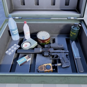 Survival Asset Pack with many models.