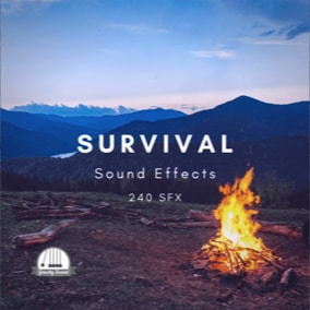 A collection of 240 survival themed sound effects.