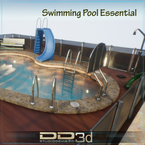 Basics Objetcts to create a complete swimming pool environment. They are the essentials objects of the swimmingpooolworld package