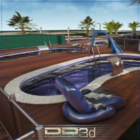 33 Swimming pool models, modular electrical cables, modular tubes and all  accessories.