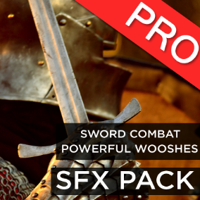 The sword combat powerful whooshes and swooshes sound effects pack features 50 high quality swords, axes, blunt weapons or any medieval RPG weapon swinging sounds + violent fighting impacts. Add dynamism to the swords fights in your game!
