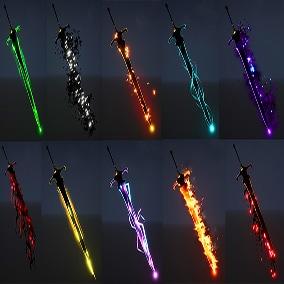 Sword FX Pack 01