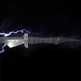 3 Swords with Sheaths + Particle Effects