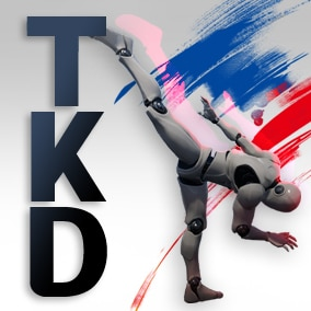 TKDstyle AnimSet + 35 animation