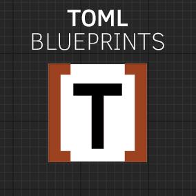 Blueprints for parsing TOML files
