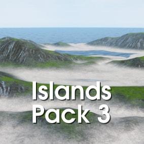 TS UE Islands Pack 3 - Procedural