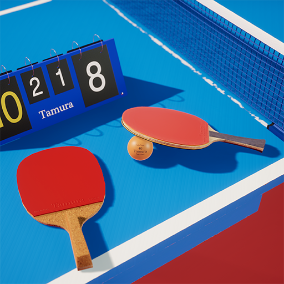 5 assets that can be used for table tennis games.