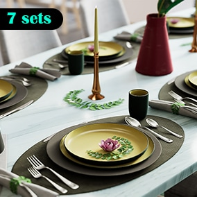 7 sets of High quality Tableware