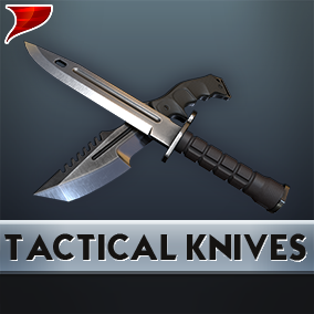 This is a Tactical Knives pack, This Pack Included SFX, Animation and 4K Textures.