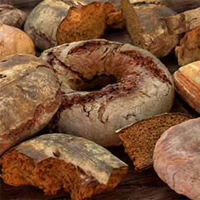 Scanned bread pack for your render and game projects