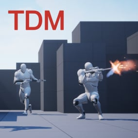 Team Deathmatch mode with all necessary features and main menu