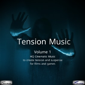 HQ Cinematic Music to create tension and suspense for films and games