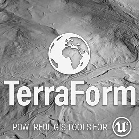 EDITOR PLUGIN: Powerful GIS Tools for UE4. Import GIS data directly into UE4 to quickly and easily create accurate real world landscapes and to position custom content or Market Place assets.
