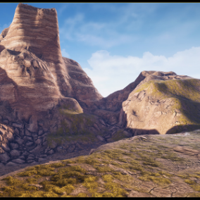 """Terrain Materials VOL.3"" - 13 layers of landscape material"