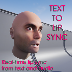 Subtitles-based lip sync